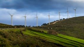 Energía eólica VIII Fotografía de archivo