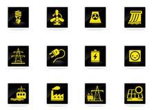 Energía e industria Imágenes de archivo libres de regalías