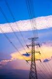 Energía eléctrica 2 imagen de archivo