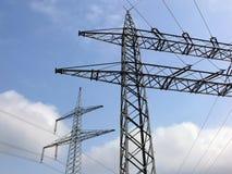 Energía eléctrica Foto de archivo libre de regalías