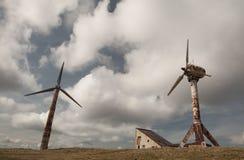 Energía Eolian Fotografía de archivo