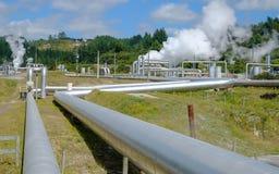 Energía geotérmica Fotos de archivo