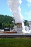 Energía geotérmica Fotografía de archivo