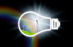 Energía limpia stock de ilustración