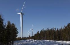 Energía limpia en el más forrest Imagen de archivo libre de regalías