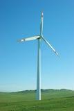 Energía limpia, energía eólica Imagen de archivo