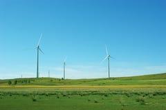 Energía limpia, energía eólica Fotos de archivo