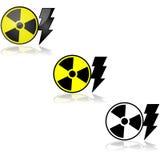 Energía nuclear stock de ilustración