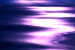 Energía púrpura Imagen de archivo libre de regalías