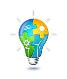 Energía renovable stock de ilustración
