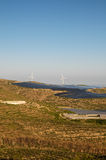 Energía renovable de la central eléctrica Imágenes de archivo libres de regalías