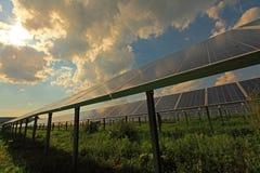 Energía solar Imágenes de archivo libres de regalías