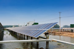 Energía solar Fotos de archivo libres de regalías