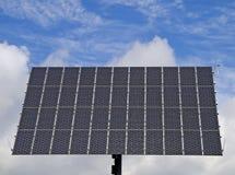 Energía solar nublada fotos de archivo libres de regalías