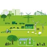 Energía sostenible Fotos de archivo libres de regalías