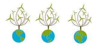 Energía verde Fotografía de archivo libre de regalías