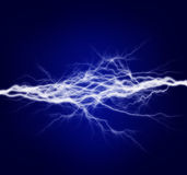 Energía y electricidad puras Fotografía de archivo libre de regalías