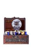 Energía de las baterías para una idea 2 Imagen de archivo libre de regalías