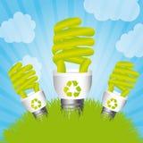 Energía del ahorro Fotografía de archivo libre de regalías