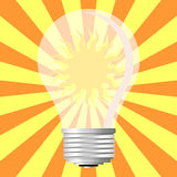 Energía ecológica Imágenes de archivo libres de regalías