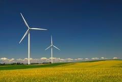 Energía eólica Fotografía de archivo libre de regalías