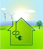 energía Viento-solar Foto de archivo libre de regalías