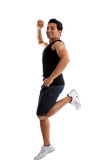 Energetic active man success Stock Photography