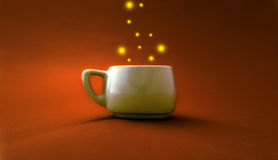 Energetic Coffee Cup Royalty Free Stock Image