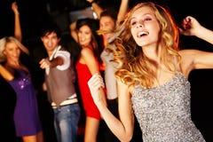 Energetic dance Stock Image