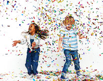 Energetic dance Royalty Free Stock Images