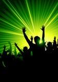 Energetic Dance Crowd
