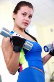 Energetic exercise Stock Image