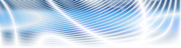 Energetic Fields Cloudy Banner Royalty Free Stock Images