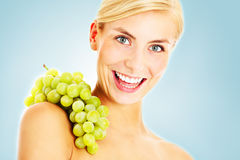 Energetic grapes Stock Photo