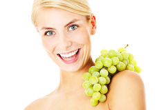 Energetic grapes Royalty Free Stock Image