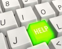 Energetic Help Key Stock Photography