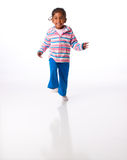 Energetic little girl Royalty Free Stock Photos