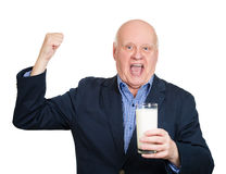 Energetic old man Stock Photos
