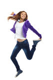 Energetic teenager Royalty Free Stock Photo