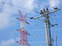 Energetic tower2.jpg Royalty Free Stock Photo