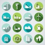 Energetyczna ikona Obrazy Stock