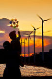 energetyczna przyszłość Obrazy Stock