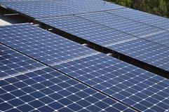 energetyczna ręka odizolowywający panelu słoneczny słońca biel Obrazy Royalty Free