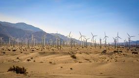 energetycznego gospodarstwa rolnego zieleni wiatr Obrazy Stock