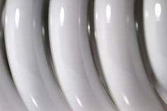 energetycznego lamp lekkiego oszczędzania ultrafioletowy biel Zdjęcia Royalty Free