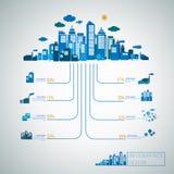 Energetycznego pojęcia szablonu infographic projekt ilustracji