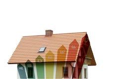 energetyczny budynki mieszkalne Obraz Royalty Free
