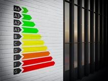 Energetyczny certyfikat Obrazy Stock