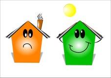energetyczny domowy oszczędzanie Zdjęcia Stock