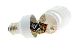 energetyczny lampowy oszczędzanie Obraz Royalty Free